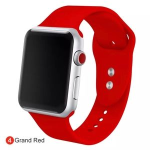 Apple Watch 42mm Silicone Replacement Sports Band